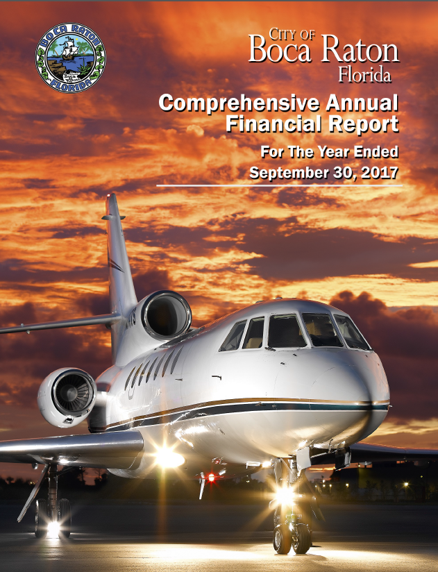 Fiscal Year 2017 CAFR Cover