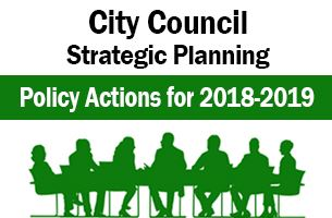 Strategic Planning Policy Actions 2018