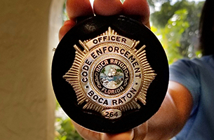 Code Enforcement badge