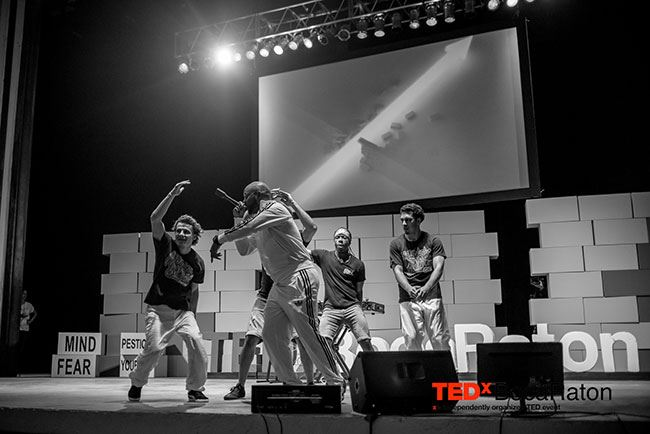 Tedx Black and White Dancing